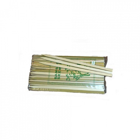 Bamboe satestokken FLAT 210mm