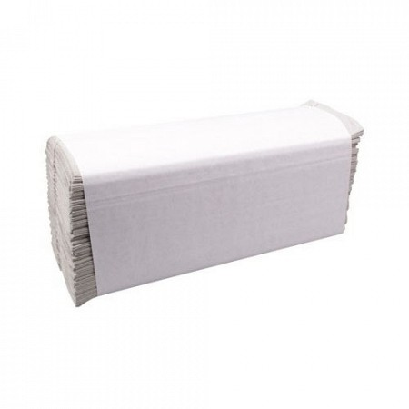 Handdoekjes C-vouw, wit, Basic